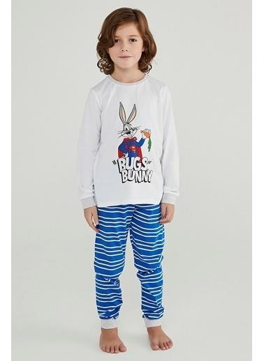 Penti Erkek Çocuk Super Bunny 2Li Pijama Takımı Renkli
